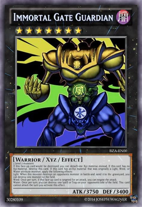 Gate Guardian Deck Legacy Of The Duelist by Immortal Gate Guardian Advanced Card Design Yugioh