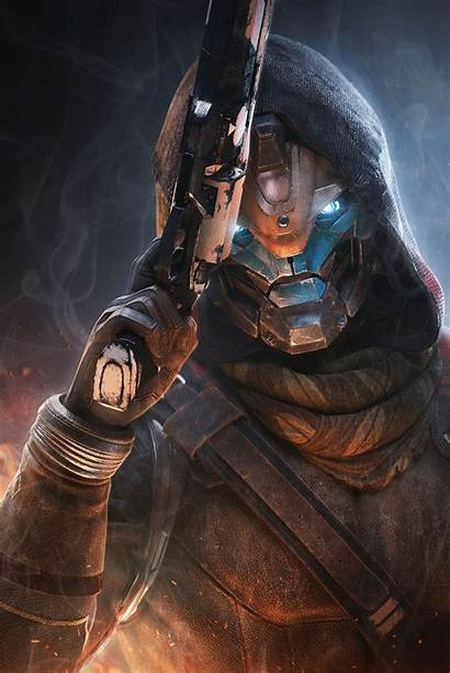 Cayde Destiny Poster Tattoo Ace Spades Hunter