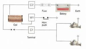 Horn Wiring Diagram Car