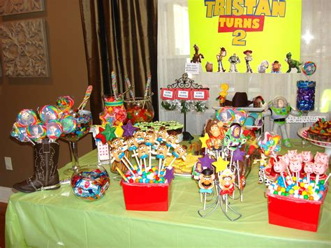 candy table toy story candy buffet pinterest candy