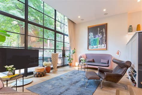 Chelsea Townhouse With Modern Danish Design Asks A Cool