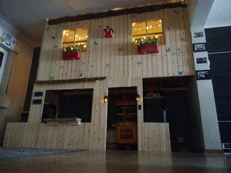 lit mezzanine avec bureau intégré lit cabane kura à 2 étages