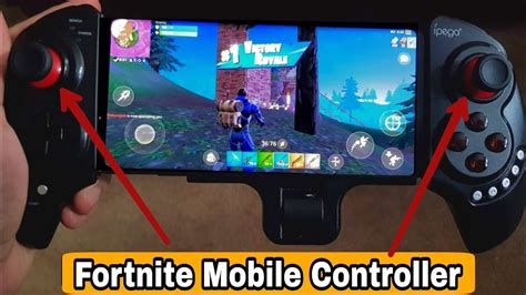 play fortnite android   controller play