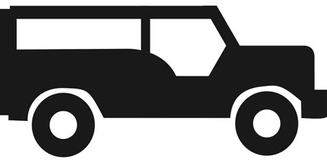 jeep logo transparent white free vector graphic jeep silhouette symbol black