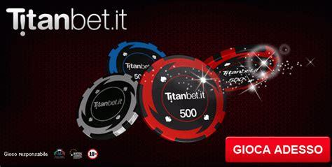 1000€ di bonus benvenuto su Titanbet Poker! Italiapokerclub