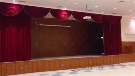 school stage curtain kuwait doha