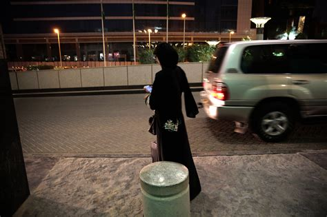 Banned From Driving, Saudi Women Turn To Uber And Other