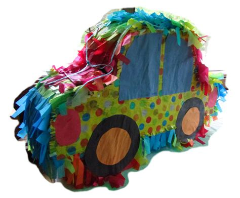how much does it cost to build a how to a car shaped pinata