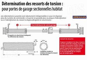 Ressort Porte De Garage Sectionnelle : ressort porte de garage hormann r703 ~ Dailycaller-alerts.com Idées de Décoration