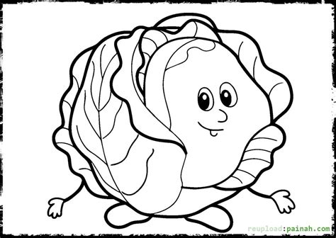Vegetable Garden Coloring Pages Printable