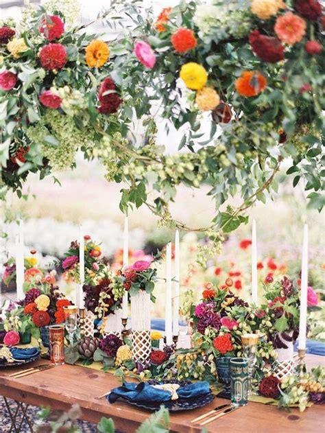 merveilleuse decoration coloree exoticwedding exotique
