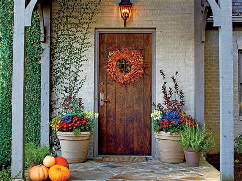 Fall Decorating : 16 Ways To Spice Up Your Porch Décor For Fall