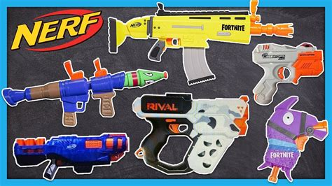leaked  nerf fortnite guns rival heracles elite