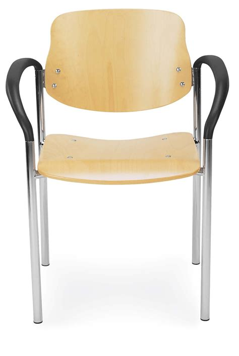 wooden conference chair with arms reality