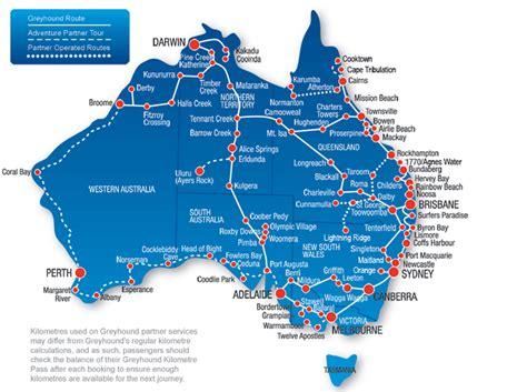 greyhound australia route map  tips  traveller