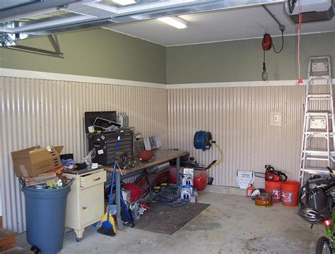 cheap garage wall covering corrugated metal garage walls ideas wanted