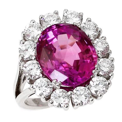 Pink Sapphire Diamond Gold Cluster Ring For Sale At 1stdibs. Tire Rings. De Beer Engagement Rings. Thumb Print Wedding Rings. Fishing Lure Rings. Popular Celebrity Engagement Wedding Rings. Pale Green Engagement Rings. First Child Engagement Rings. Super Thin Wedding Rings