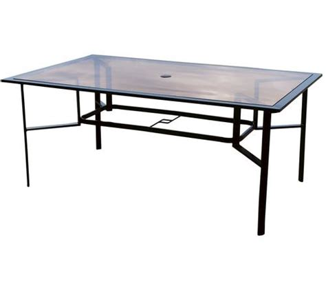 glass replacement table top for pacifica dining table at