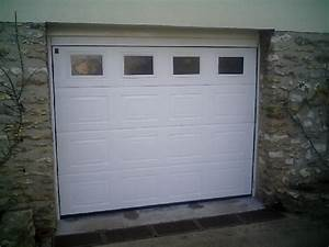 portes de garage fermestore With porte de garage sectionnelle avec fenetre