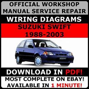 Official Workshop Service Repair Manual Suzuki Swift