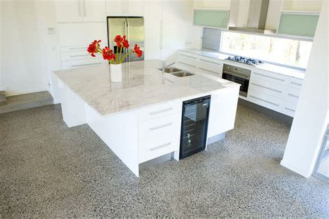 polished concrete floor kitchen residential floors home flooring southeast floors 4301