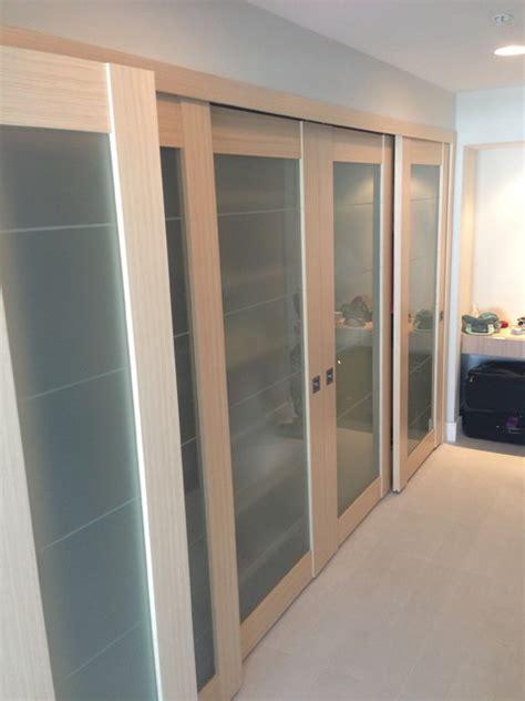 sliding doors contemporary closet miami by metro