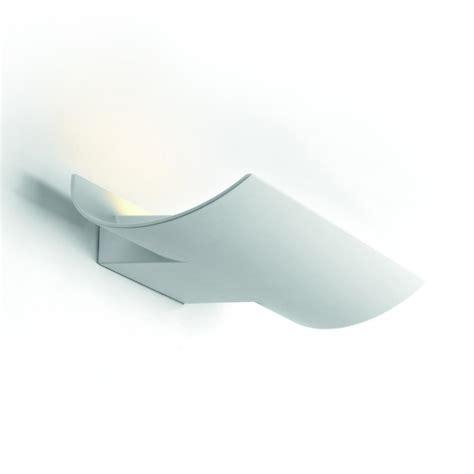 applique moderna applique moderna da esterno in alluminio bianco a onda