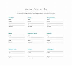 you are a lifesaver template just bcause With vendor contact information template