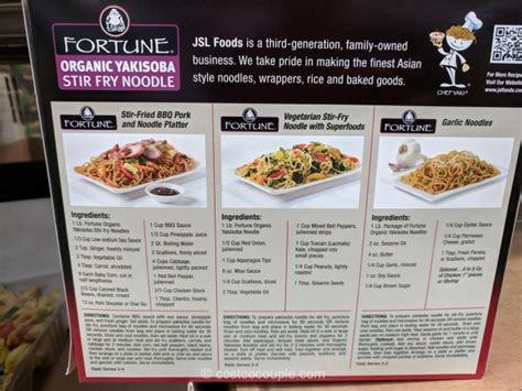 Fortune Organic Yakisoba Noodle