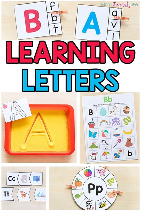 preschool alphabet game learning letters with activities 985