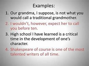 Ppt - Rule 5  Parenthetical Expressions Powerpoint Presentation