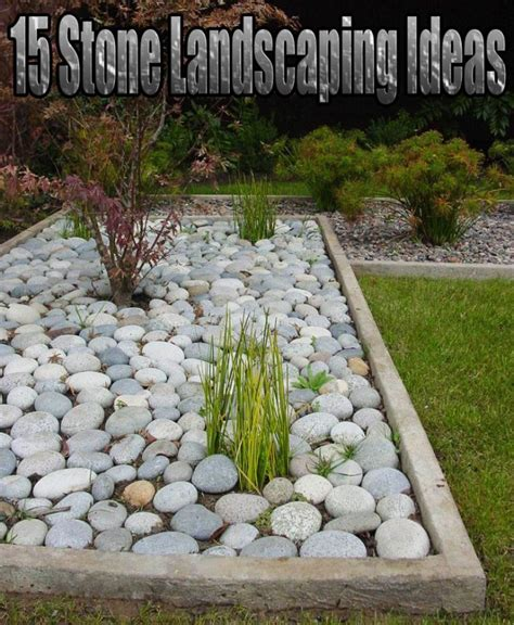 Quiet Corner:15 Stone Landscaping Ideas - Quiet Corner