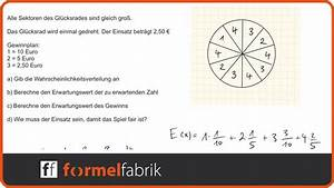 Joul Berechnen : erwartungswert wahrscheinlichkeitsverteilung gl cksrad ~ Themetempest.com Abrechnung