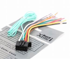 Xtenzi Power Cord Harness Speaker Plug For Pioneer Mvh