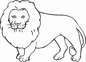 Free Lion Outline Cliparts, Download Free Clip Art, Free ...