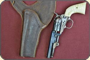 Left Hand Draw Should Holster For An 1849 Or Pocket Navy
