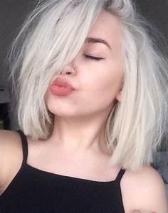 Coloration Cheveux Gris Perle : id e couleur coiffure femme 2017 2018 amazing pale ~ Nature-et-papiers.com Idées de Décoration