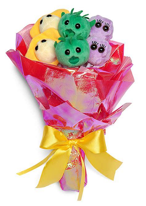 Plush Bouquet Microbes Of Love Thinkgeek