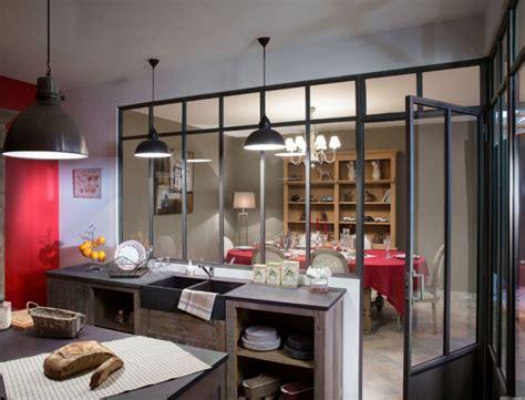 atelier cuisine cuisine avec verrière cuisine industriel