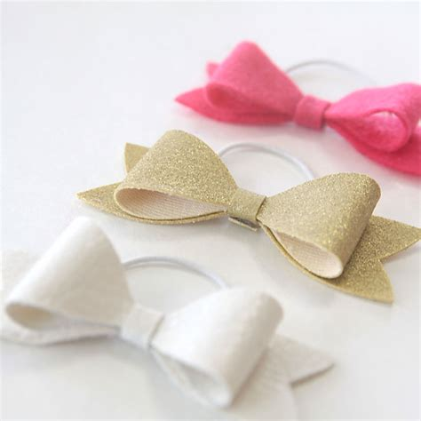 how to make a simple bow easy diy hair bow elastics great gift it s always autumn