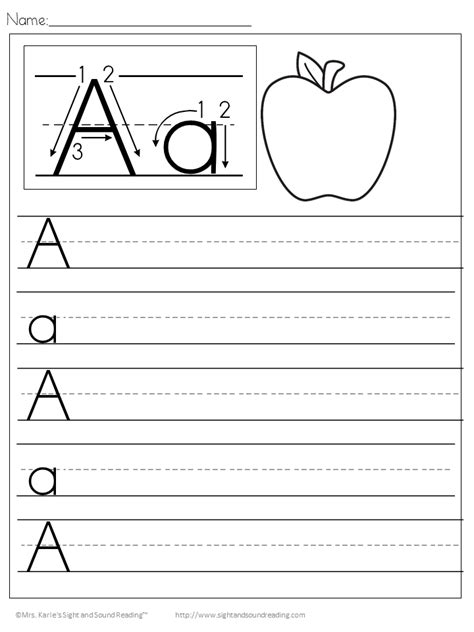 Handwriting Worksheets For Kindergarten Names  Handwriting Worksheets Have Fun Teachingbest