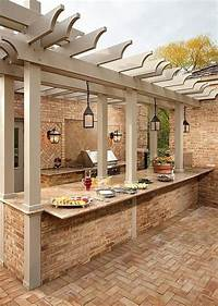 nice outdoor kitchen ideas 95 Cool Outdoor Kitchen Designs - DigsDigs