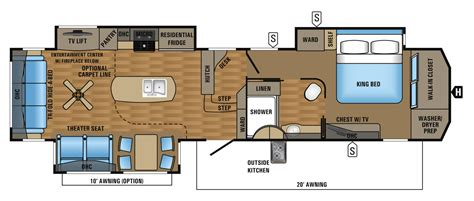 jayco designer 5th wheel floor plans 2017 luxury fifth wheel floorplans prices