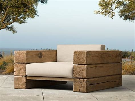 solid wood bench seat  wood outdoor furniture rustic