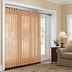 home naples grommet top bamboo panel sliding glass door