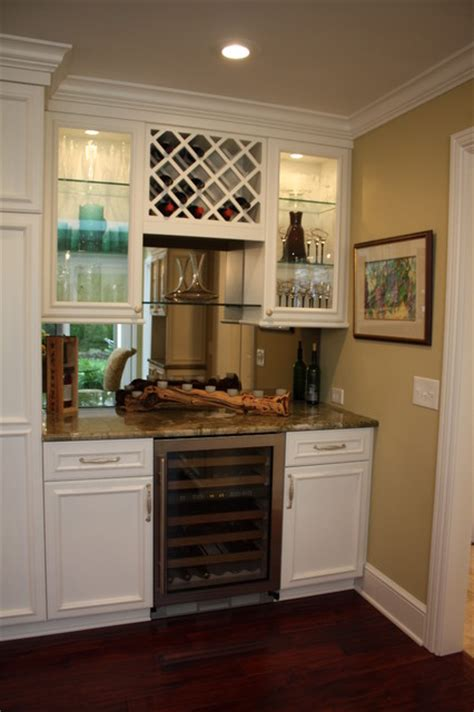Small Wine Bar Ideas by Bar Traditional Kitchen Cleveland By Architectural