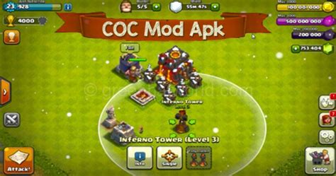 free clash of clans mod apk offline for android coc hack md omar makki
