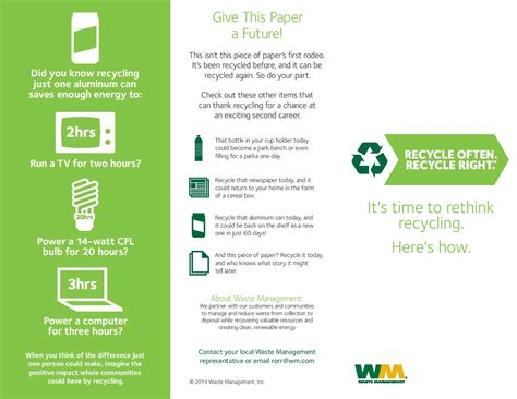 single stream recycling info  waste management