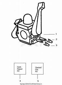 Poulan Wt200le Gas Blower Type 4 Parts Diagram For