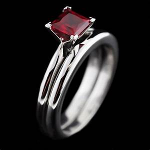 ruby engagement rings archives miadonna diamond blog With tiffany wedding ring set